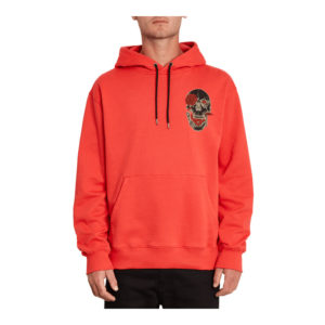 VOLCOM FA P/O FLEECE - SWEAT HOMME CARMINE RED