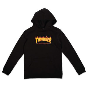 THRASHER FLAME KIDS SWEAT À CAPUCHE