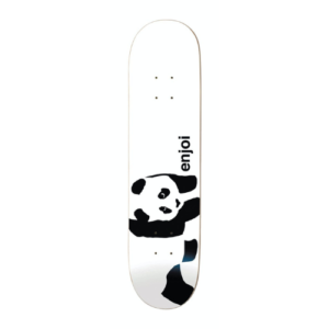 ENJOI WHITE PANDA LOGO