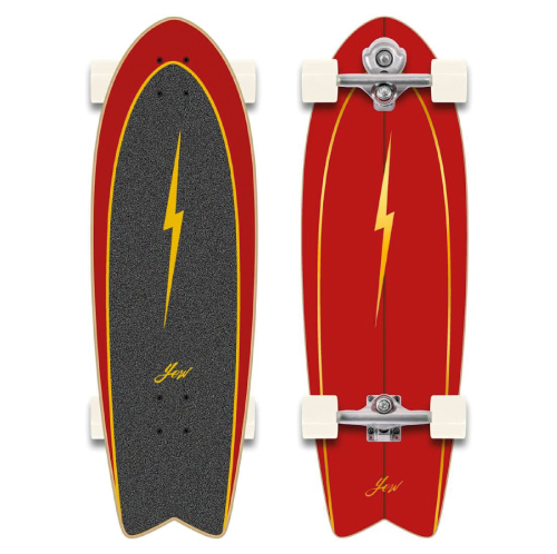 Skip to the beginning of the images gallery YOW Surf Pipe 32 Surfskate 2021